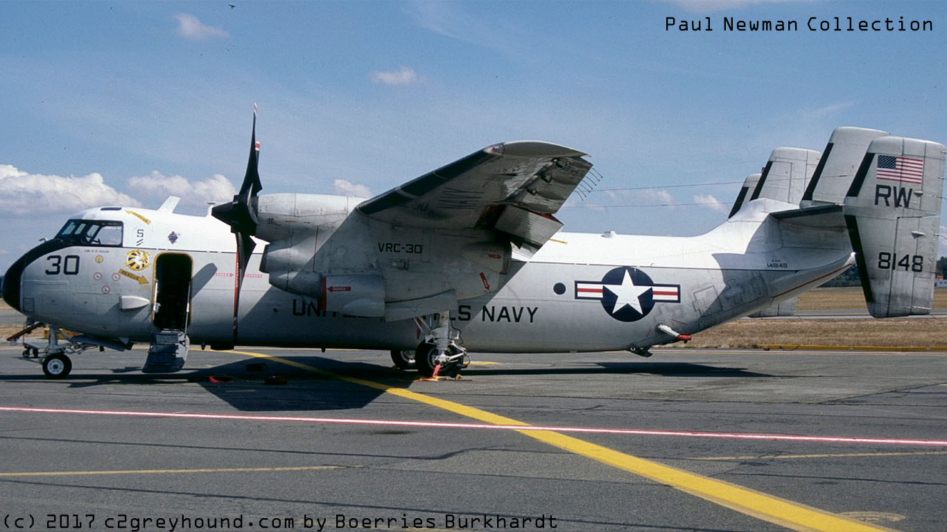 Grumman C-2A Greyhound VRC-30 BuNo 148148