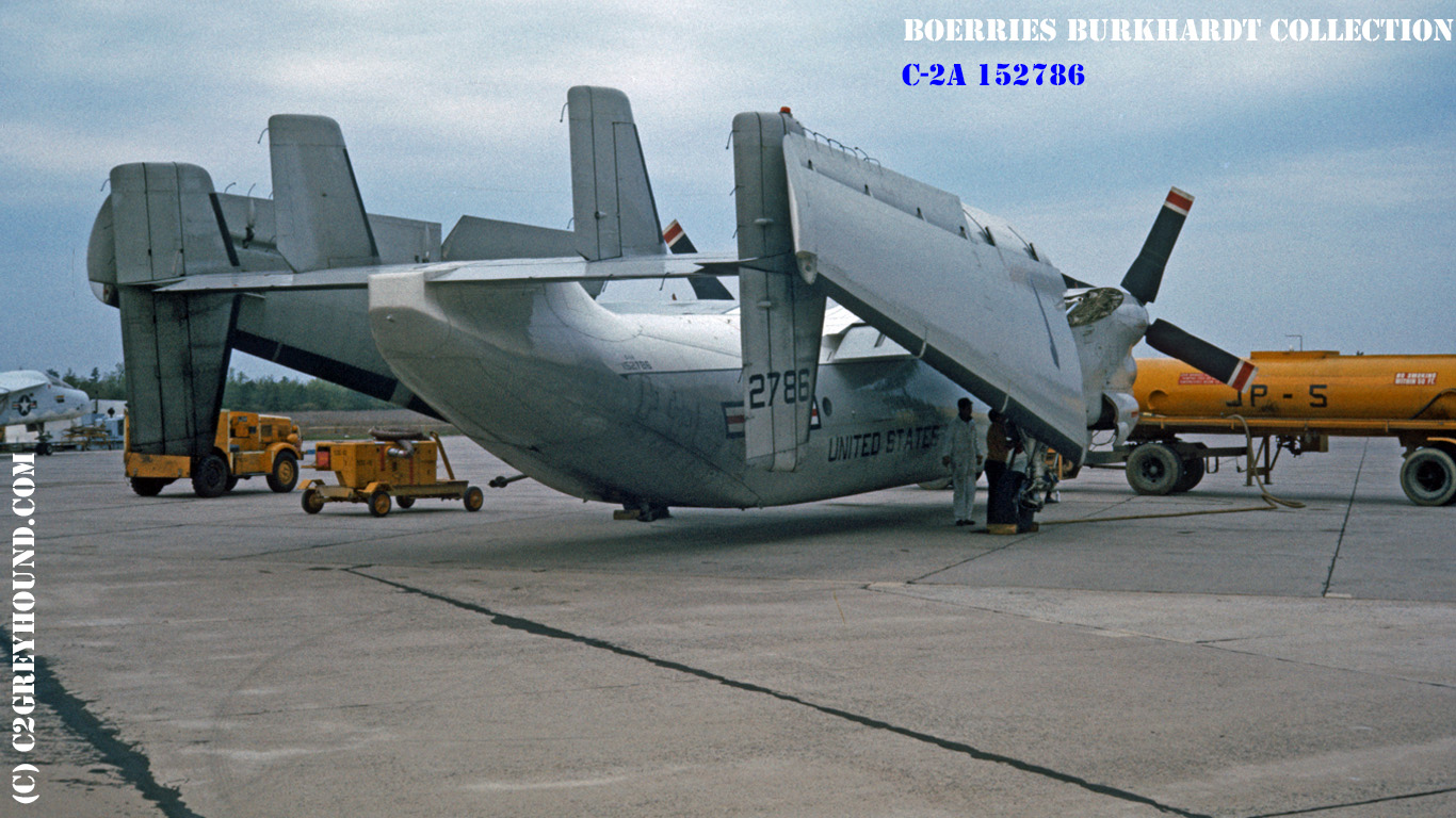 Grumman C-2A Greyhound BuNo 152786