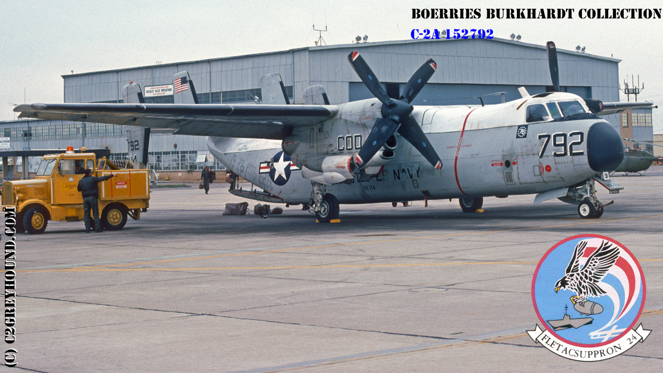Grumman C-2A Greyhound BuNo 152792