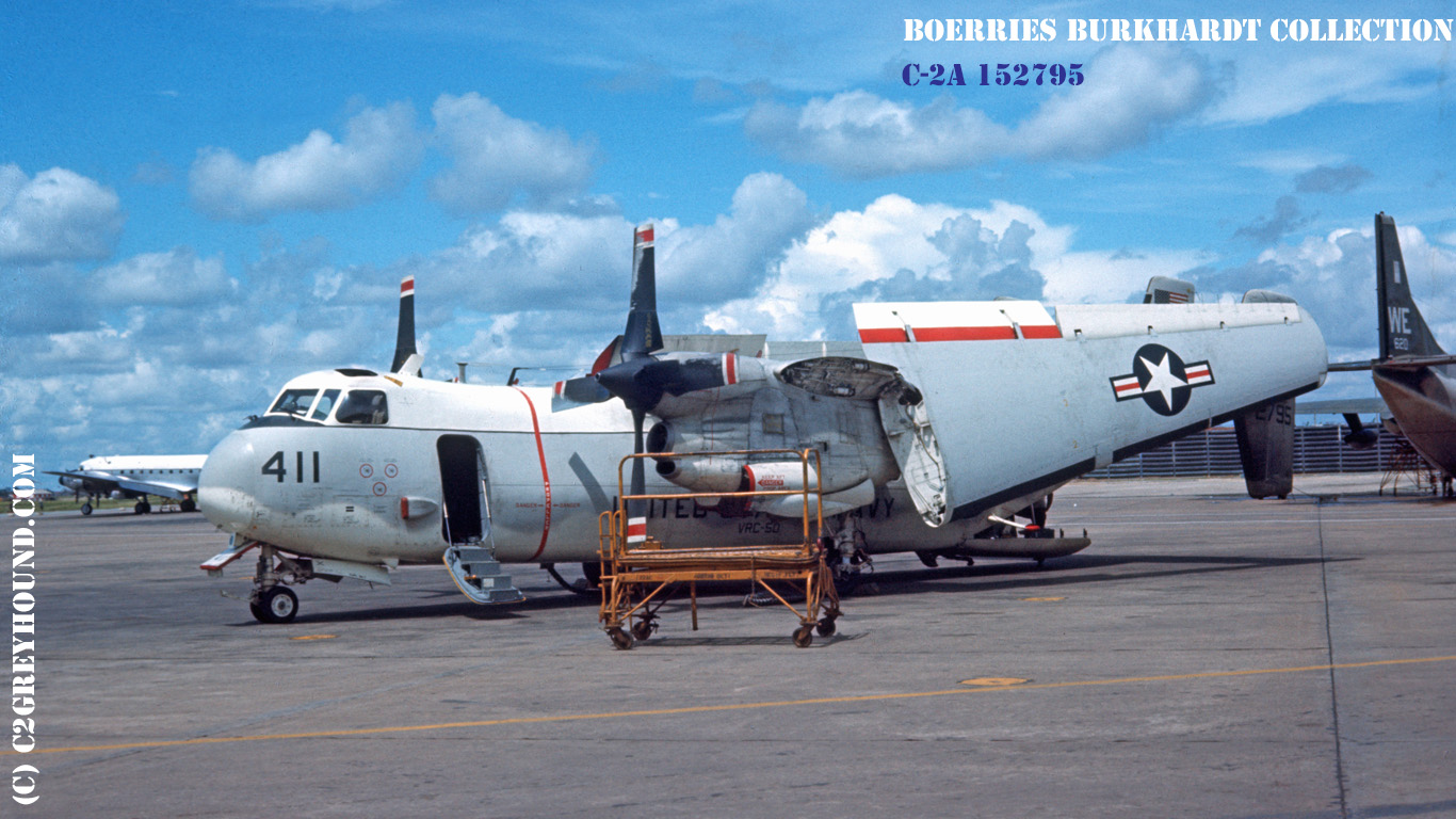 Grumman C-2A Greyhound BuNo 152795