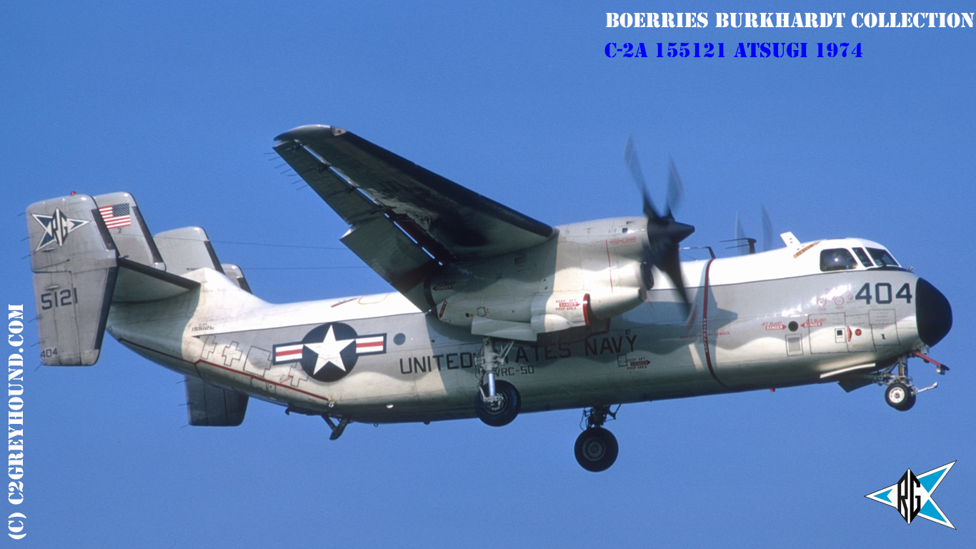 Grumman C-2A Greyhound VRC-50 BuNo 155121
