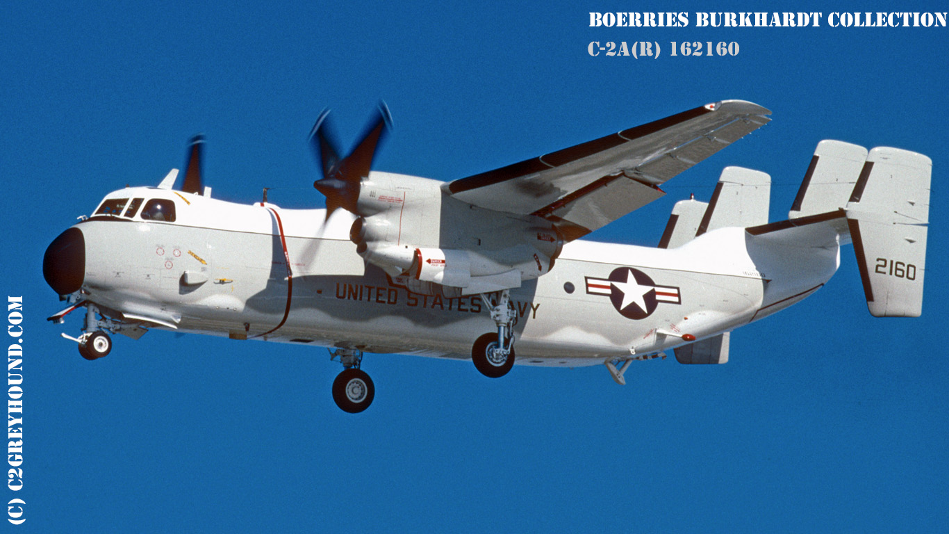 Grumman C-2A(R) Greyhound BuNo 162160