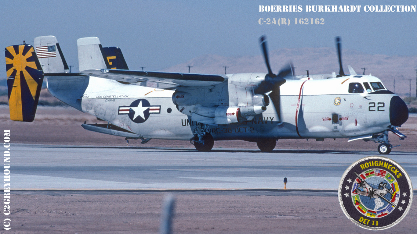 Grumman C-2A Greyhound VRC-30 BuNo 162162