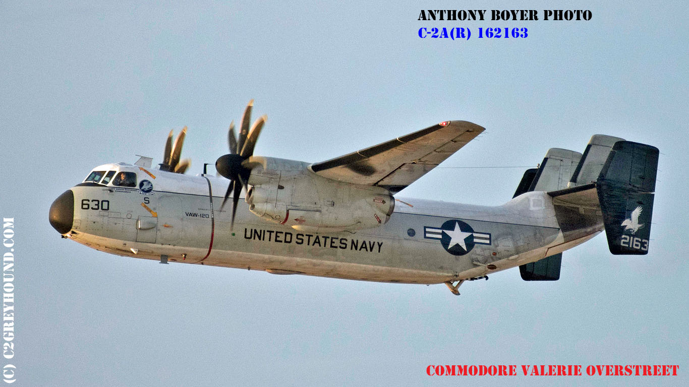 Grumman C-2A(R) Greyhound BuNo 162163