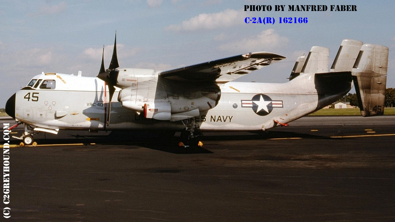Grumman C-2A(R) Greyhound BuNo 162166