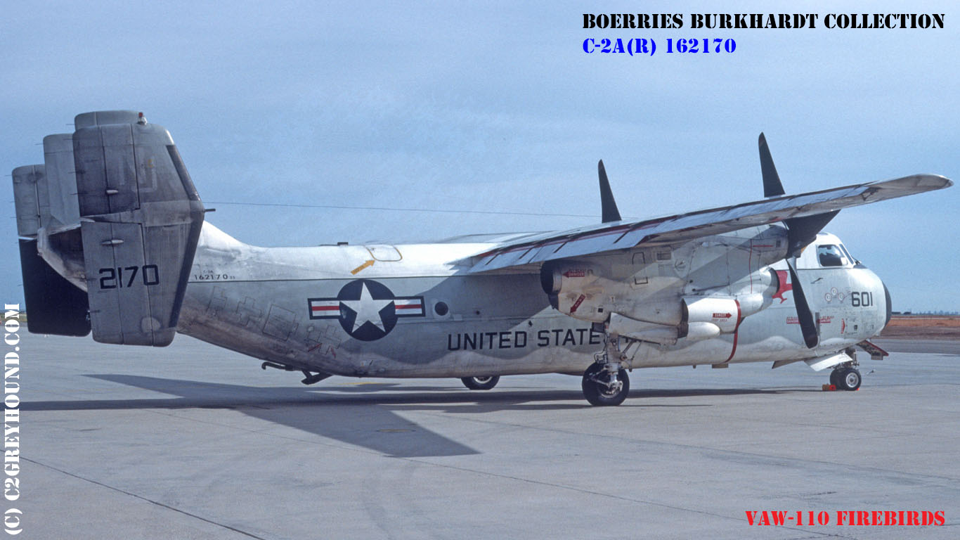 Grumman C-2A(R) Greyhound VAW-110 Firebirds BuNo 162170